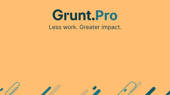 Grunt.Pro